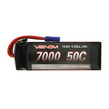 VENOM VENOM 50C 4S 7000MAH 14.8V LIPO BATTERY WITH EC5 PLUG