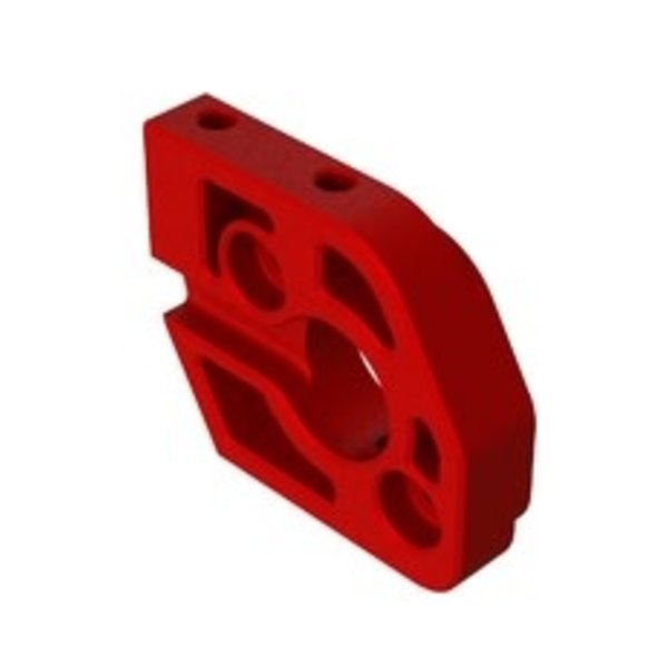 arrma Aluminum Steering Plate A (Red) (2)
