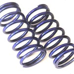 HOT RACING RVO5080 18lb Blue Fast On-Road Springs 2