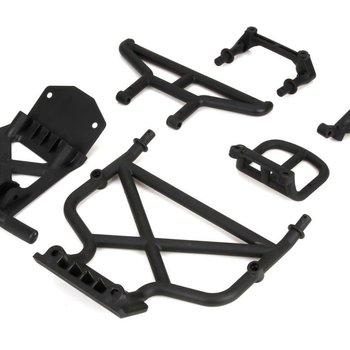 LOS Front/Rear Bumper & Bumper Brace: 1:5 4wd DB XL