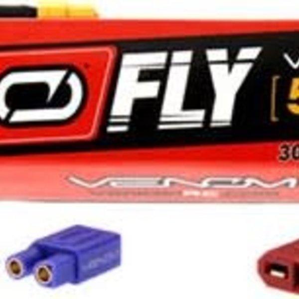 VENOM 25020 LiPo 5S 18.5V 5000mAh 30C Universal Plug 2.0 Fly
