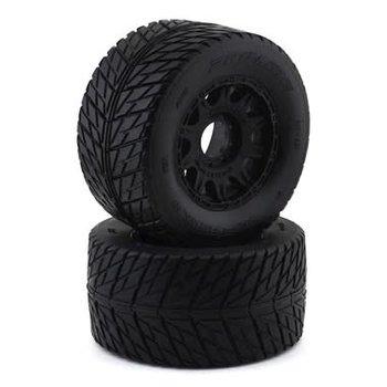 PROLINE Street Fighter HP 3.8 BELTED Tires MTD Raid Wheels