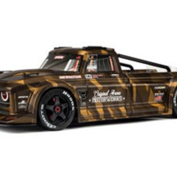 arrma INFRACTION 6S BLX PAINTED DECALED TRIMMED BODY (MATTE BRONZE CAMO)