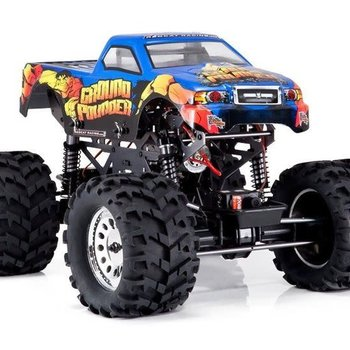 redcat Ground Pounder 1/10 Scale Electric Monster Truck (3-Channel 2.4GHz Remote Control)