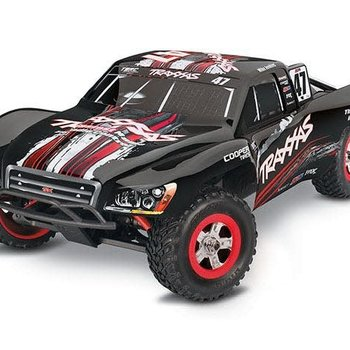 Traxxas Slash: 1/16-Scale Pro 4WD Short Course Racing Truck with TQ 2.4GHz radio - Black