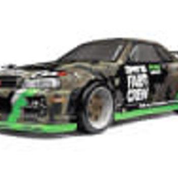 HPI Micro RS4 Drift Fail Crew Nissan Skyline R34 GT-R