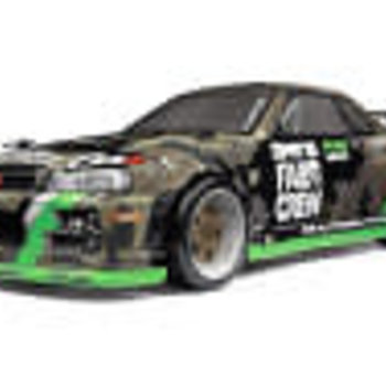 HPI Racing Micro RS4 Drift Fail Crew Nissan Skyline R34 GT-R