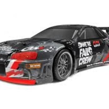 HPI Racing E10 Drift Fail Crew Nissan Skyline R34 GT-R Assembled