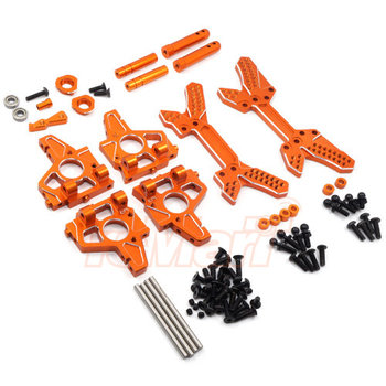 YEAH RACING SPT2-S02OR YEAH RACING HPI SPRINT 2 ALUMINUM ENDURANCE UPGRADE KIT