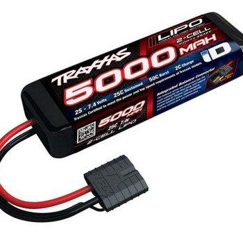 Traxxas 25C 7.4V 5000mAh Lipo , w/TRA ID (GRD SHIP INC)