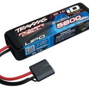 Traxxas 5800mAh 7.4v 2-Cell 25C LiPo Battery(GRD SHIP INC)