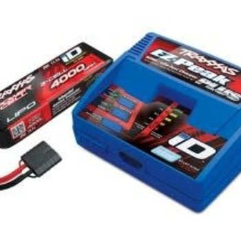 Traxxas Battery/charger completer pack (includes #2970 iD charger (1), #2849X 4000mAh 11.1v 3-Cell 25C LiPo Battery (1))