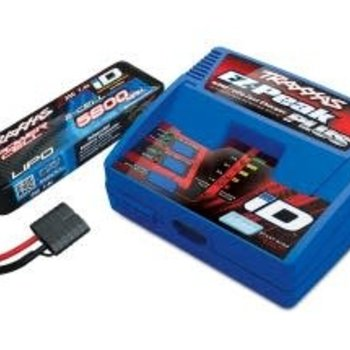 Traxxas 2992 Battery/charger completer pack (includes #2970 iD charger (1), #2843X 5800mAh 7.4V 2-cell 25C LiPo battery (1))