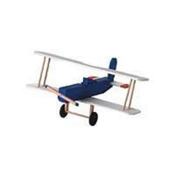 "Darice Wood Model Kit-Biplane 3.5""X8.5""X7.5"
