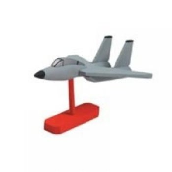 "Darice Wood Model Kit-Fighter Jet 7.75""X4"