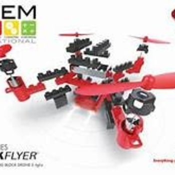 STEM EDUCATIONAL FPV WIFI BRICK FLYER (BLUE, RED, & YELLOW COLORS AVAILABLE)