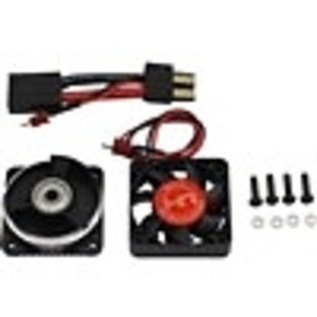 HOT RACING Hot Racing Motor Heat Sink Bearing End Cap with Blower Fan for Unlimited Desert Racer