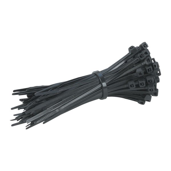 5 In. Black Cable Ties 100 Pk.