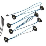 Traxxas LED rock light kit, TRX-4/TRX-6 (requires #8028 power supply and #8018, #8072, or #8080 inner fenders)