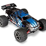 Traxxas E-Revo VXL: 1/16-Scale 4WD Racing Monster Truck with TQi Traxxas Link Enabled 2.4GHz Radio System & Traxxas Stability Management (TSM) - BLUE