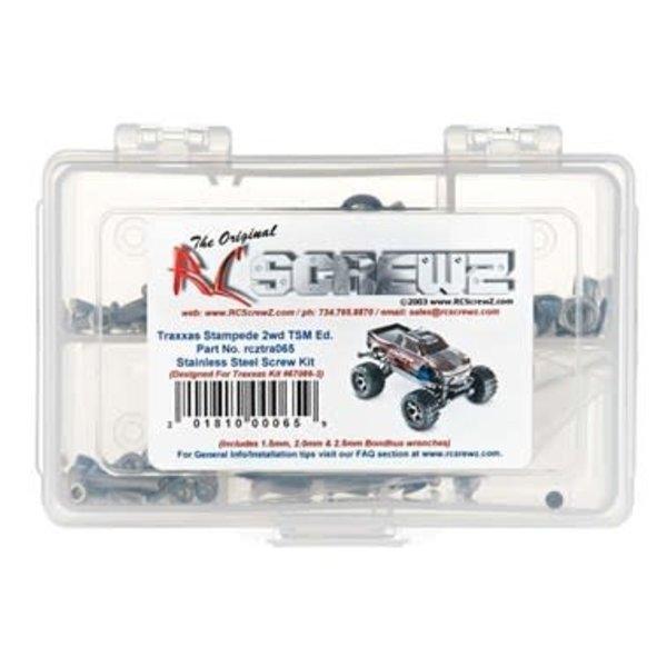 RC Screwz Stainless Screw Kit Stampede 4x4 TSM