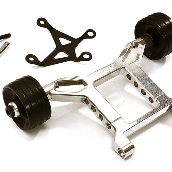 Integy Machined Wheelie Bar for Arrma 1/10 Granite 4X4 3S BLX C29008SILVER