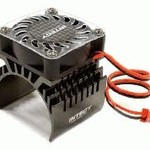 Integy 40x40mm High Speed Cooling Fan+Heatsink Mount for 40mm O.D. Motor