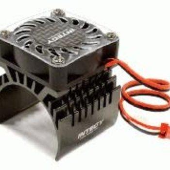 Integy 40x40mm High Speed Cooling Fan+Heatsink Mount for 40mm O.D. Motor