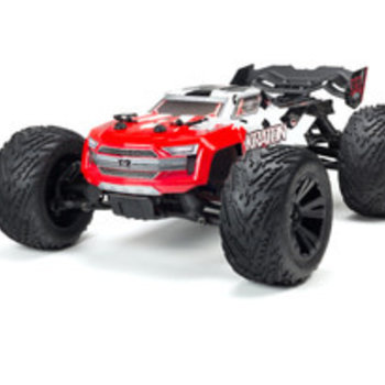 arrma AR402215 Kraton 4x4 BLX Painted Decaled Body Red