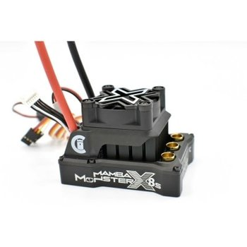 Castle Creations 1/6 Mamba Monster X 8S 33.6V WP ESC 8A Peak BEC