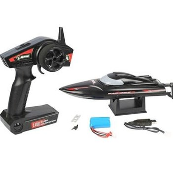 Rage R/C Black Marlin MX RTR Boat