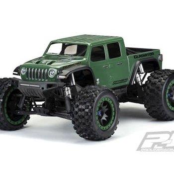 PRO Pre-Cut Jeep Gladiator Rubicon Clear Body X-MAXX
