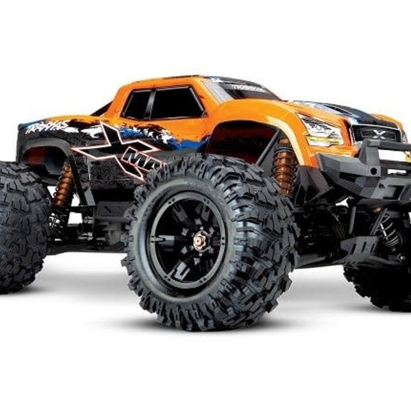 Traxxas X-Maxx: Brushless Electric Monster Truck with TQi Traxxas Link Enabled 2.4GHz Radio System & Traxxas Stability Management (TSM)