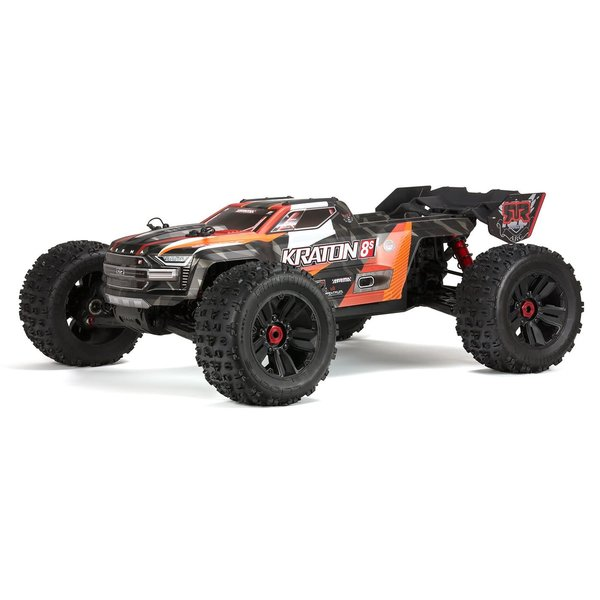 arrma 1/5 KRATON 4WD 8S BLX  RTR:ORNG (Additional $10 at checkout. to total $60 shipping inc. in price)