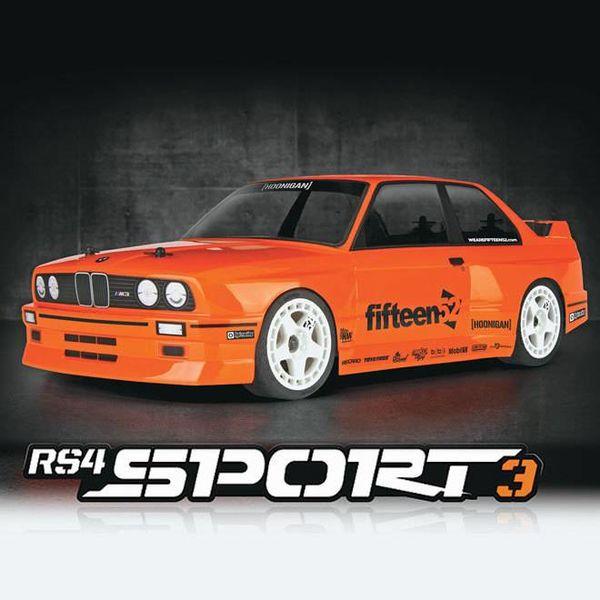 HPI 114343 RS4 Sport 3 RTR w/BMW M3 E30 Body