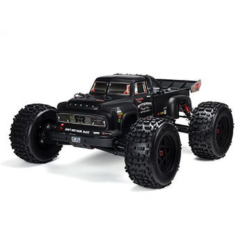 ARA 1/8 Notorious 6S 4WD BLX Stunt Truck Black (Shipping included in online price)