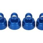 Traxxas 3767A Shock Caps Alum Blue Anodized (4)