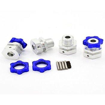 HOT RACING 17mm Hub Wide Offset Adapter Blue(4)