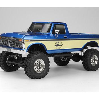 Carisma SCA-1E 1/10 Scale '76 Ford F-150 4WD Scaler, RTR - Blue