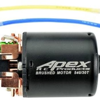 APEX APEX RC PRODUCTS 30T TURN 540 BRUSHED CRAWLER ELECTRIC MOTOR