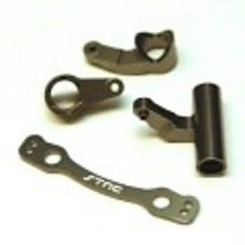 strc CNC Machined Aluminum Steering Bellcrank set for Outcast 6S, Limitless/Infraction (GM)