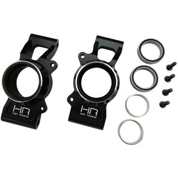 HOT RACING XMX2201 Aluminum Rear Knuckle Kit Black X-Maxx