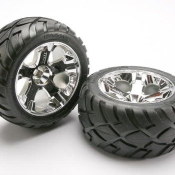 Traxxas 5576R Tires & Wheels Rear Jato 3.3