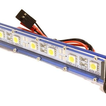 Integy Realistic Roof Top SMD LED Light Bar 123x17x21mm for 1/10 Scale Crawler