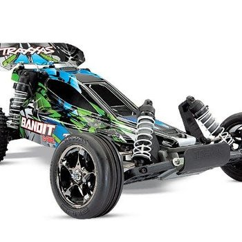 Traxxas Bandit VXL: 1/10 Scale Off-Road Buggy with TQi Traxxas Link Enabled 2.4GHz Radio System & Traxxas Stability Management (TSM)