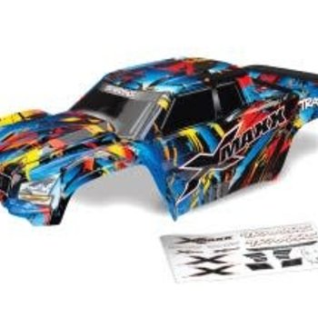 Traxxas Body, X-Maxx, Rock n' Roll (painted, decals applied) (assembled with tailgate protector)