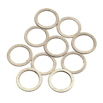 Integy Metal Washer 10x13x0.3mm (10) for 10mm Axle & Bevel Gear Shimming