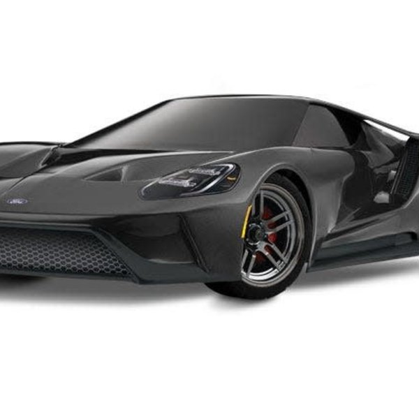 "Traxxas 83056-4_BLK OR RED Ford GT"": 1/10 Scale AWD Supercar with TQi Traxxas Link Enabled 2.4GHz Radio System & Traxxas Stability Management (TSM)"
