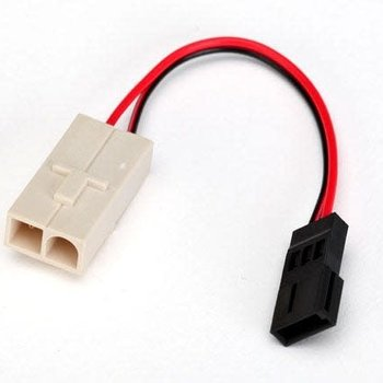 Traxxas Adapter, Molex to Traxxas receiver battery pack (for charging) (1)