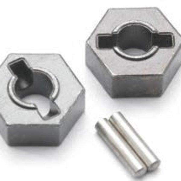 Traxxas 4954R Wheel hubs, hex (steel)